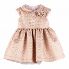 Платье кремовое Mamino